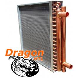 """18"""" X 18"""" Water To Air Heat Exchanger, 120,000 Btu"""