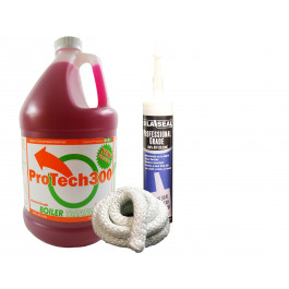 """Yearly Maintenance Kit with 6 feet of 1"""" Fire Rope - Maintainance & Treatment"""