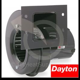 Dayton Blowers 6Fhx5, 115 Volt, Draft Fan 4C442 Blower, 140 Cfm, 3020 Rpm