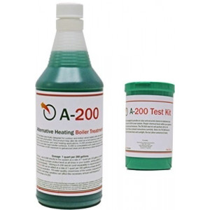 Outdoor Boiler Water Treatment A200 with Rust Inhibitor and Test Kit-TK500
