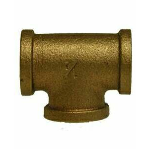 """1"""" FPT Brass Tee Fitting"""