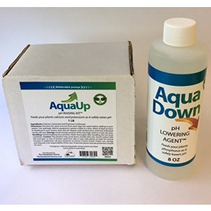 Aqua Up Aquaponics pH Kit, Aqua Down pH Lowering agent -  Aquaponics Supplies