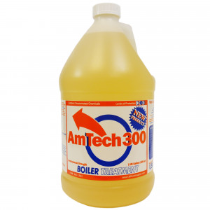 Amtech 300 Wood Boiler Water Treatment, Corrosion Inhibitor, 1 Gallon