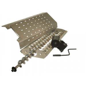Complete Auger & Grate Assembly, 1/4 Mild Steel - 4400 - Wood Furnaces