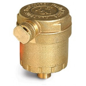 "Air Vent 1/8"" Cash Acme 24090 AV Series, Brass"