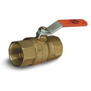 "1 1/4"" Brass Ball Valve FNPT Cash Acme  Model 2010 - Ball Valves"