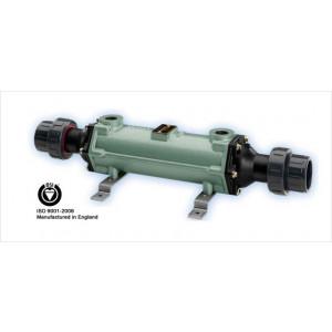 Cupro-Nickle Tube & Shell Heat Exchanger, 200,000 BTU