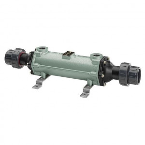 Bowman Cupro-Nickle Tube & Shell Heat Exchanger, 400,000 BTU