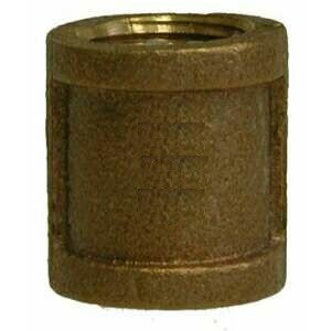 "1"" Brass Coupling FPT - Brass Fittings"