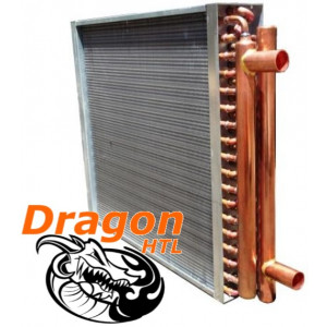 "16"" x 16"" Water to Air Heat Exchanger, 80,000 BTU (Dragon Quality)"