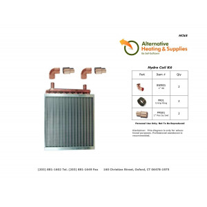 Hydro Coil Kit - Do It Yourself Kits - Copper Fittings