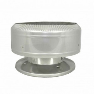 "SuperPro 8"" Stainless Steel Deluxe Raincap - Parts & Accessories"