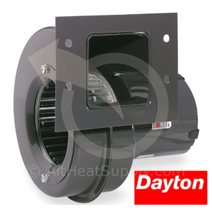 Dayton Blowers 6FHX5, 115 Volt, Draft Fan 4C442 Blower, 140 CFM, 3020 RPM