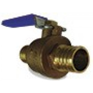 "3/4"" Pex Ball Valve Cash Acme 22462LF"
