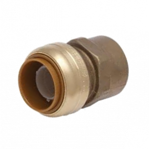 "3/4"" x 3/4"" FPT Brass SharkBite Cash Acme U088LF, SharkBite Fittings"