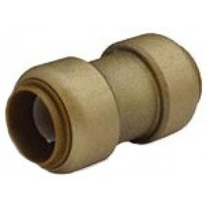 "1"" brass Coupling SharkBite Cash Acme U020LF, SharkBite Fittings"
