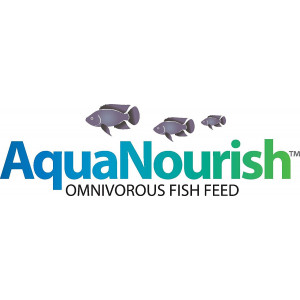 AquaNourish Omnivorous Aquaponic Fish Feed - Stage 1, 10 lbs