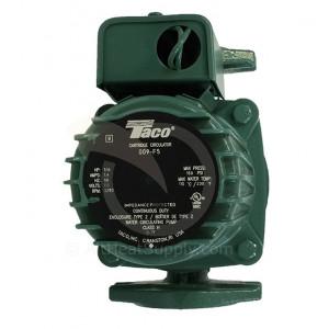 Taco 009-F5 Cast Iron, 1/8 HP, High Velocity Circulator Pump