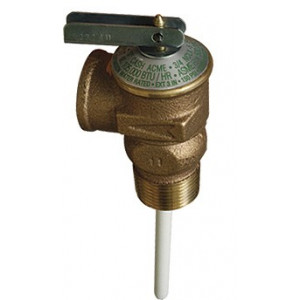"Temperature Relief Valve, 1"" Probe, Cash Acme NCLX-1, Pressure & Temp Relief Valves"