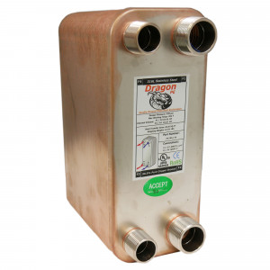 70 Brazed Plate Heat Exchanger, 175,000 BTU