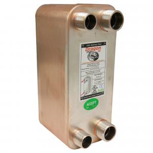 50 Brazed Plate Heat Exchanger, 100,000 BTU