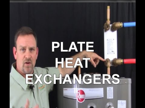 How To Install A Plate Heat Exchanger On A Hot Water Tank