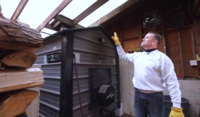How To Install And Mount An Outdoor Wood Boiler Diy Projects