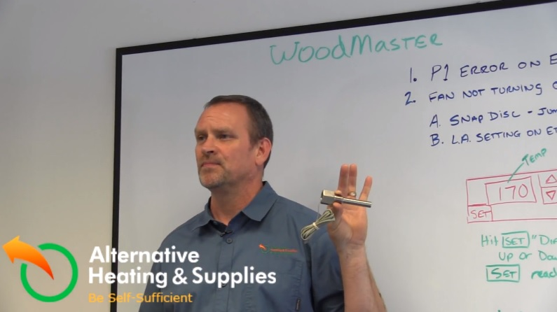 How To Fix The P1 Error On The Wood Stove S Etc Panel Alternative