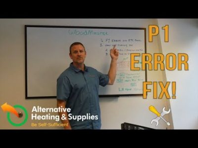 WoodMaster Furnace Panel Issues - Part 1: Fixing the P1 Error Code